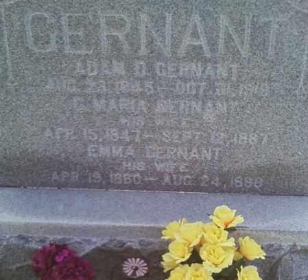 GERNANT, EMMA SOPHIA - Henry County, Illinois | EMMA SOPHIA GERNANT - Illinois Gravestone Photos