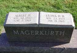 MAGERKURTH, LEONA H. H. - Henry County, Illinois   LEONA H. H. MAGERKURTH - Illinois Gravestone Photos