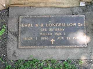 LONGFELLOW SR, EARL  A R - Iroquois County, Illinois   EARL  A R LONGFELLOW SR - Illinois Gravestone Photos