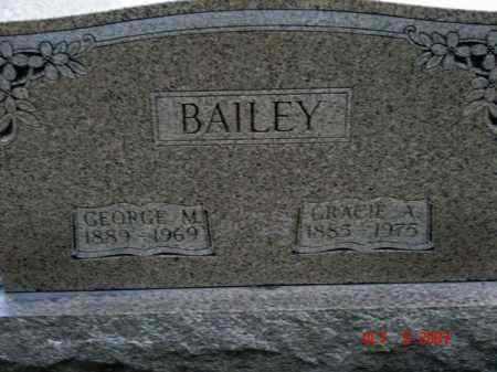 CLAGG BAILEY, GRACIE A. - Jasper County, Illinois | GRACIE A. CLAGG BAILEY - Illinois Gravestone Photos