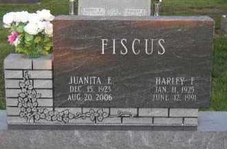FISCUS, JUANITA E. - Jasper County, Illinois | JUANITA E. FISCUS - Illinois Gravestone Photos