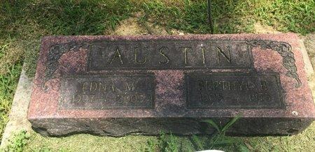 AUSTIN, EDNA M - Jefferson County, Illinois | EDNA M AUSTIN - Illinois Gravestone Photos