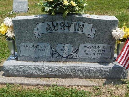 AUSTIN, WAYMON E - Jefferson County, Illinois   WAYMON E AUSTIN - Illinois Gravestone Photos