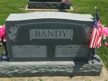 EASLEY BANDY, MARY RUTH - Jefferson County, Illinois | MARY RUTH EASLEY BANDY - Illinois Gravestone Photos