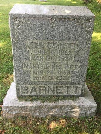 BARNETT, JOHN - Jefferson County, Illinois   JOHN BARNETT - Illinois Gravestone Photos