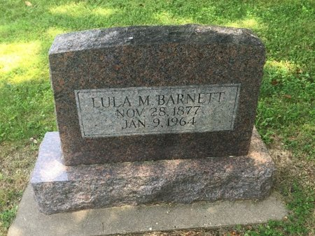 BARNETT, LULA M - Jefferson County, Illinois | LULA M BARNETT - Illinois Gravestone Photos