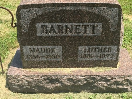 BARNETT, LUTHER - Jefferson County, Illinois | LUTHER BARNETT - Illinois Gravestone Photos