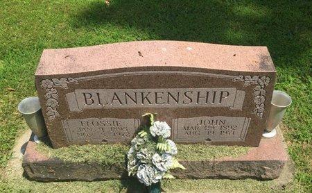 BLANKENSHIP, FLOSSIE - Jefferson County, Illinois | FLOSSIE BLANKENSHIP - Illinois Gravestone Photos