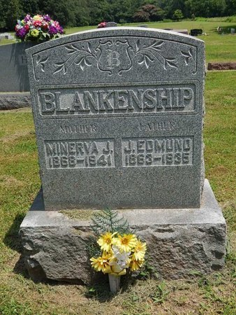 BLANKENSHIP, MINERVA J - Jefferson County, Illinois | MINERVA J BLANKENSHIP - Illinois Gravestone Photos