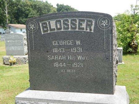 BLOSSER, SARAH - Jefferson County, Illinois | SARAH BLOSSER - Illinois Gravestone Photos