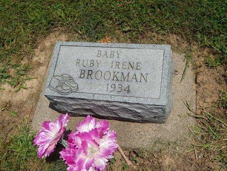 BROOKMAN, RUBY IRENE - Jefferson County, Illinois   RUBY IRENE BROOKMAN - Illinois Gravestone Photos