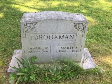 BROOKMAN, SAMUEL W - Jefferson County, Illinois   SAMUEL W BROOKMAN - Illinois Gravestone Photos