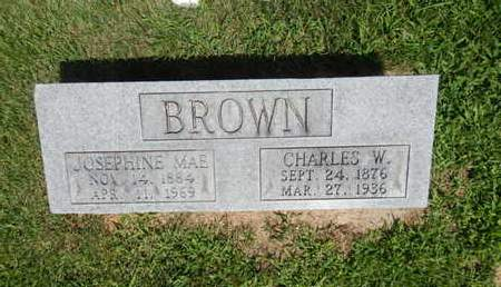 BROWN, JOSEPHINE MAE - Jefferson County, Illinois | JOSEPHINE MAE BROWN - Illinois Gravestone Photos