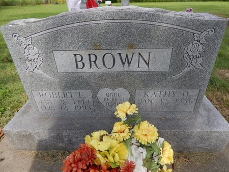 BROWN, ROBERT L - Jefferson County, Illinois | ROBERT L BROWN - Illinois Gravestone Photos