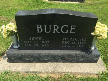 BURGE, JEWEL - Jefferson County, Illinois | JEWEL BURGE - Illinois Gravestone Photos