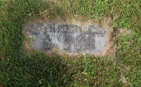 BURNS, EILEEN RUTH - Jefferson County, Illinois | EILEEN RUTH BURNS - Illinois Gravestone Photos