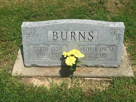 BURNS, ARTHUR OSCAR - Jefferson County, Illinois | ARTHUR OSCAR BURNS - Illinois Gravestone Photos