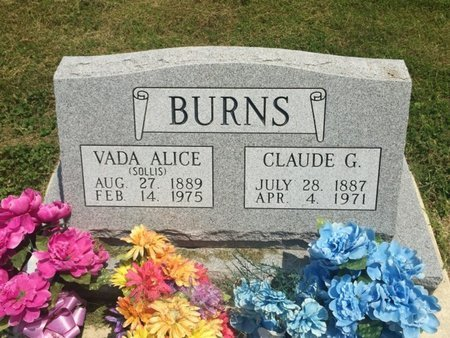 BURNS, CLAUDE G - Jefferson County, Illinois | CLAUDE G BURNS - Illinois Gravestone Photos