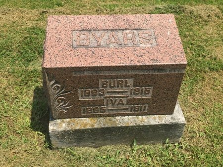 BYARS, IVA - Jefferson County, Illinois | IVA BYARS - Illinois Gravestone Photos
