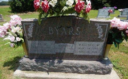 BYARS, WALLACE W - Jefferson County, Illinois | WALLACE W BYARS - Illinois Gravestone Photos