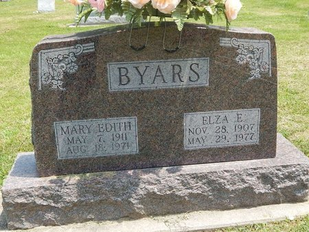 BYARS, ELZA E - Jefferson County, Illinois | ELZA E BYARS - Illinois Gravestone Photos