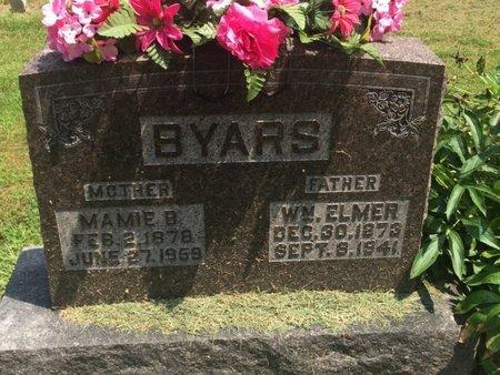 BYARS, WILLIAM ELMER - Jefferson County, Illinois | WILLIAM ELMER BYARS - Illinois Gravestone Photos