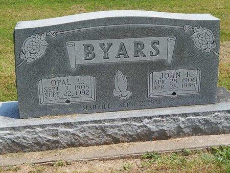 BYARS, OPAL L - Jefferson County, Illinois | OPAL L BYARS - Illinois Gravestone Photos
