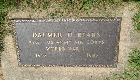 BYARS (VETERAN WWII), DALMER D - Jefferson County, Illinois | DALMER D BYARS (VETERAN WWII) - Illinois Gravestone Photos