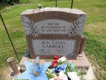 CARROLL, JON CASEY - Jefferson County, Illinois | JON CASEY CARROLL - Illinois Gravestone Photos