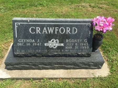 CRAWFORD, RODNEY G - Jefferson County, Illinois | RODNEY G CRAWFORD - Illinois Gravestone Photos
