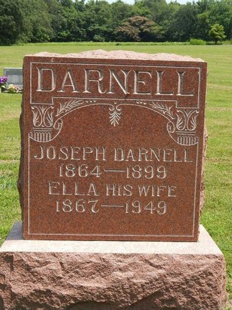 DARNELL, ELLA - Jefferson County, Illinois | ELLA DARNELL - Illinois Gravestone Photos
