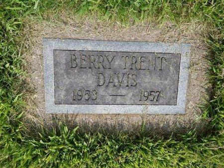 DAVIS, BERRY TRENT - Jefferson County, Illinois | BERRY TRENT DAVIS - Illinois Gravestone Photos