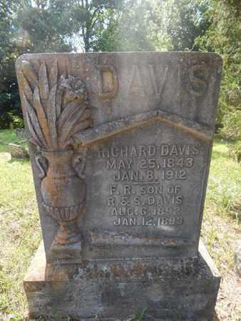 DAVIS, F R - Jefferson County, Illinois   F R DAVIS - Illinois Gravestone Photos