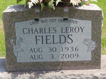 FIELDS, CHARLES LEROY - Jefferson County, Illinois | CHARLES LEROY FIELDS - Illinois Gravestone Photos