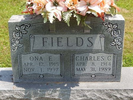 FIELDS, ONA E - Jefferson County, Illinois | ONA E FIELDS - Illinois Gravestone Photos