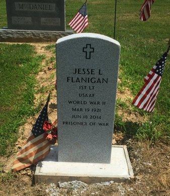 FLANIGAN (VETERAN WWII), JESSE L - Jefferson County, Illinois | JESSE L FLANIGAN (VETERAN WWII) - Illinois Gravestone Photos