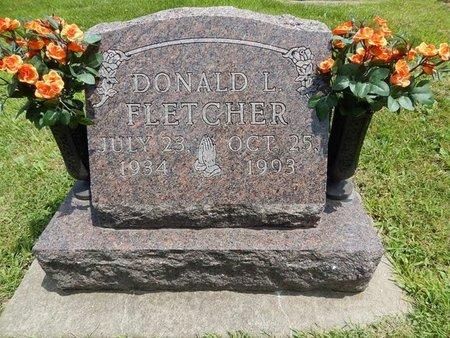FLETCHER, DONALD L - Jefferson County, Illinois | DONALD L FLETCHER - Illinois Gravestone Photos