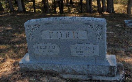 FORD, MILTON L - Jefferson County, Illinois | MILTON L FORD - Illinois Gravestone Photos