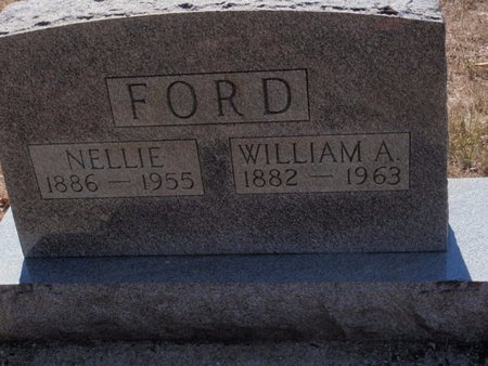 FORD, WILLIAM A - Jefferson County, Illinois | WILLIAM A FORD - Illinois Gravestone Photos