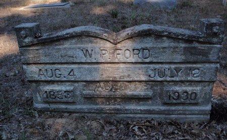 FORD, W P - Jefferson County, Illinois   W P FORD - Illinois Gravestone Photos