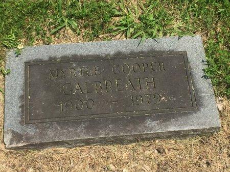 GALBREATH, MYRTLE - Jefferson County, Illinois | MYRTLE GALBREATH - Illinois Gravestone Photos