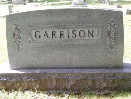 GARRISON, FAMILY MARKER - Jefferson County, Illinois | FAMILY MARKER GARRISON - Illinois Gravestone Photos