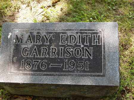 GARRISON, MARY EDITH - Jefferson County, Illinois | MARY EDITH GARRISON - Illinois Gravestone Photos