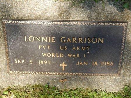 GARRISON (VETERAN WWI), LONNIE - Jefferson County, Illinois   LONNIE GARRISON (VETERAN WWI) - Illinois Gravestone Photos