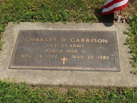 GARRISON (VETERAN WWII), CHARLES D - Jefferson County, Illinois | CHARLES D GARRISON (VETERAN WWII) - Illinois Gravestone Photos