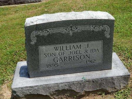 GARRISON, WILLIAM J - Jefferson County, Illinois | WILLIAM J GARRISON - Illinois Gravestone Photos