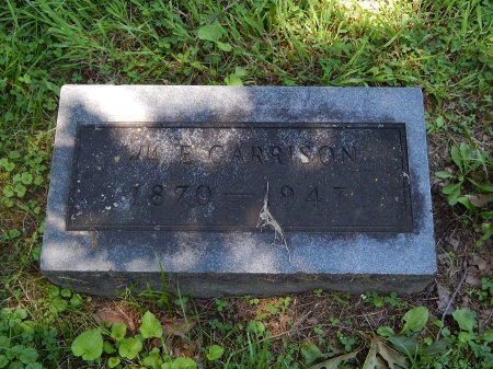 GARRISON, WILLIAM EARNEST - Jefferson County, Illinois | WILLIAM EARNEST GARRISON - Illinois Gravestone Photos