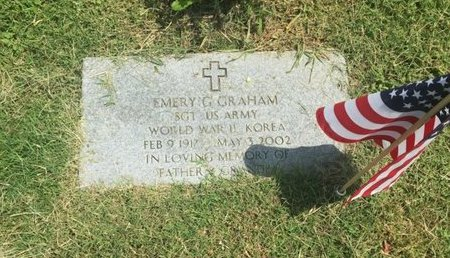 GRAHAM (VETERAN WWII KOR), EMERY G - Jefferson County, Illinois | EMERY G GRAHAM (VETERAN WWII KOR) - Illinois Gravestone Photos