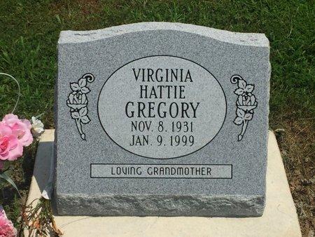 GREGORY, VIRGINIA HATTIE - Jefferson County, Illinois   VIRGINIA HATTIE GREGORY - Illinois Gravestone Photos
