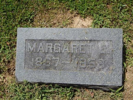 HANES, MARGARET E - Jefferson County, Illinois   MARGARET E HANES - Illinois Gravestone Photos